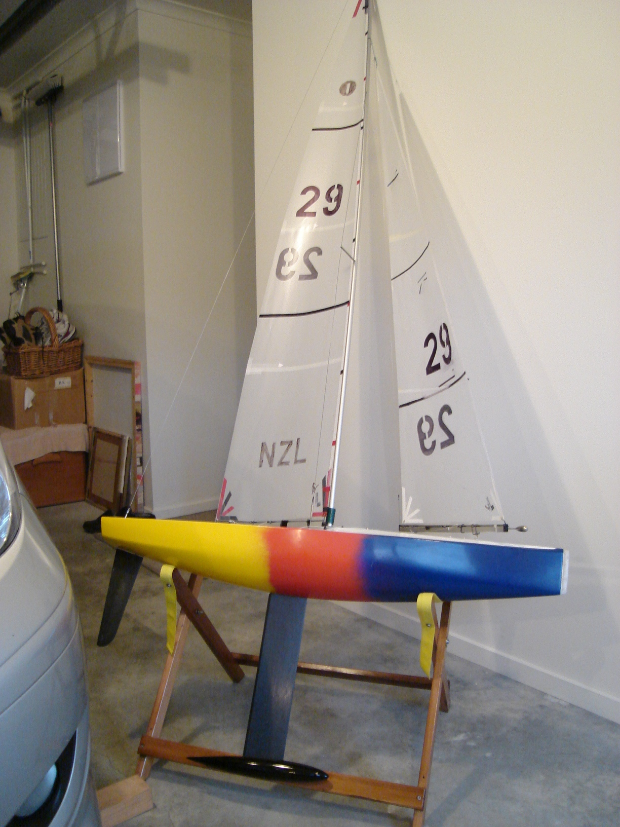 Building a Vickers V8 | Radio Yacht Squadron Nelson