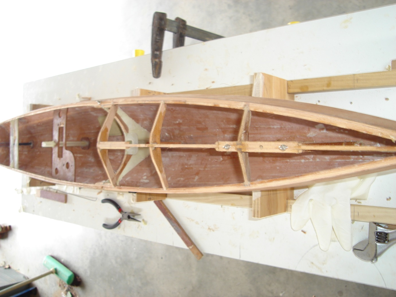 Building a Vickers V8 – Radio Yacht Squadron Nelson