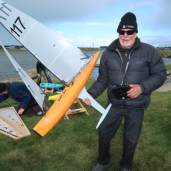 Brian at the South Island Championship - Pegasus 2018