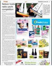 RYSN in the newspaper - South Island Championship 2017